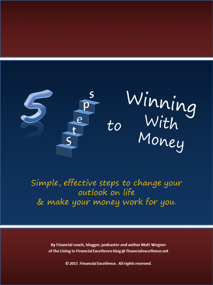 5 Steps to Winning with Money Cover Portrait Promote your Business for Free!