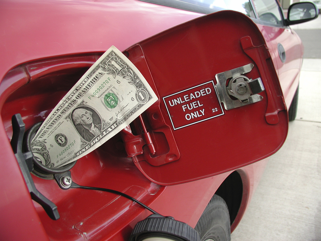 rising cost of gas