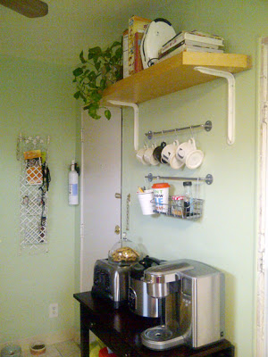 DIY Ikea Kitchen Organization